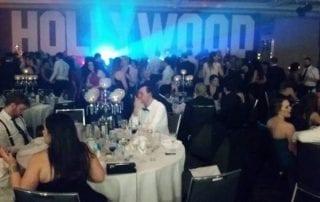 Event Decor Hollywood theme