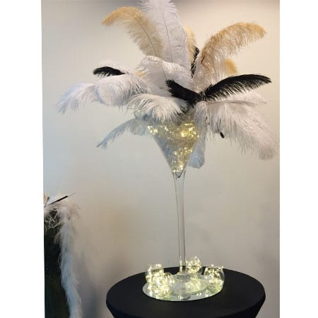 themed centrepieces for hire