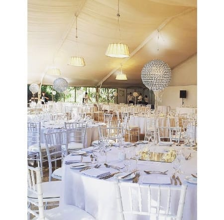 Crystal Orb centrepiece hq for hire
